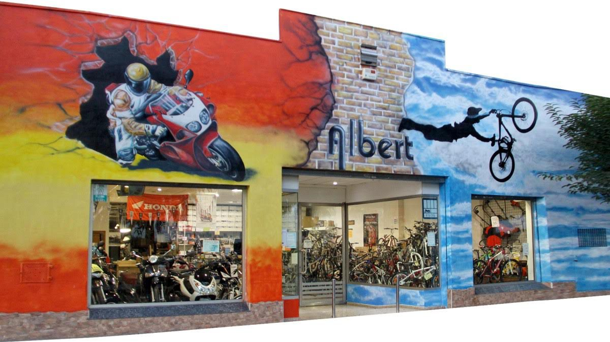 Albert motos bicis . com