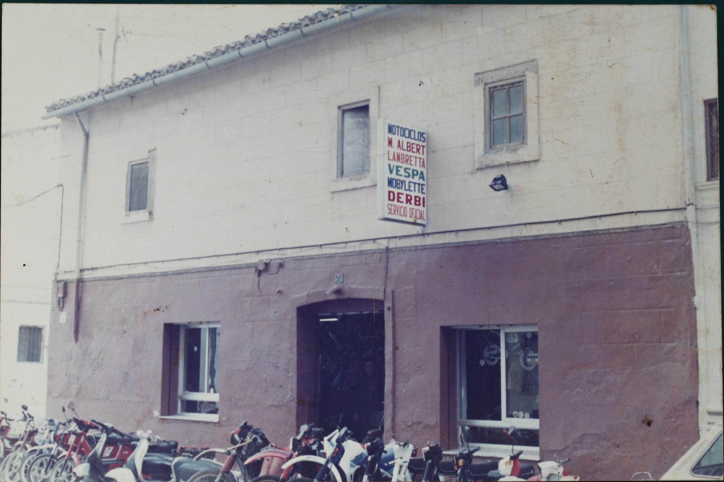 Antiguo taller en la calle Major