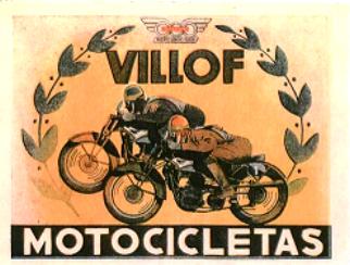 Logotipo Motocicletas Villof