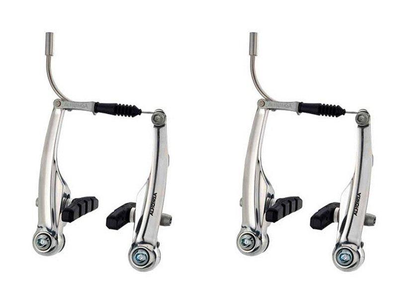 Jgo de Frenos V-brake de Aluminio Alhonga