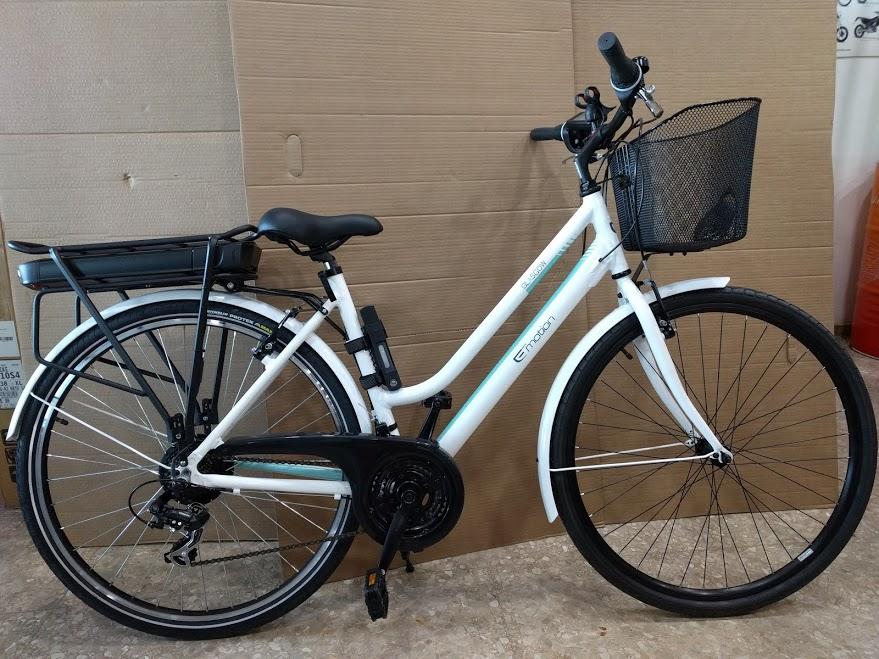 Bicicleta BH Glasgow transformada en bicicleta eléctrica