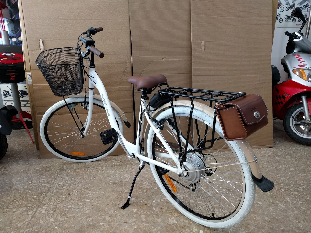 Bicicleta BH Miami transformada en bicicleta eléctrica