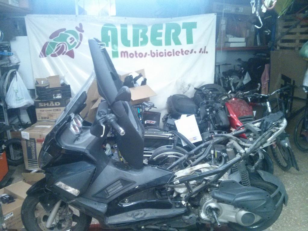 Taller de reparación motos Albert
