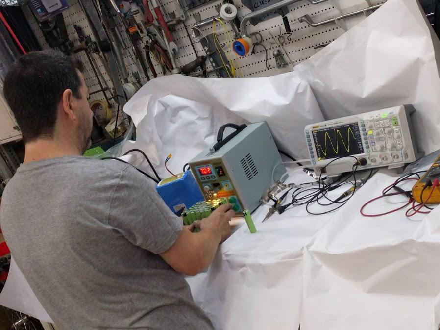 reparación bateria bicicleta eléctrica