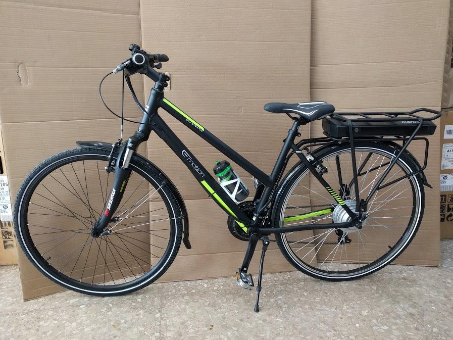 Bicicleta BH Beartack transformada en bicicleta eléctrica
