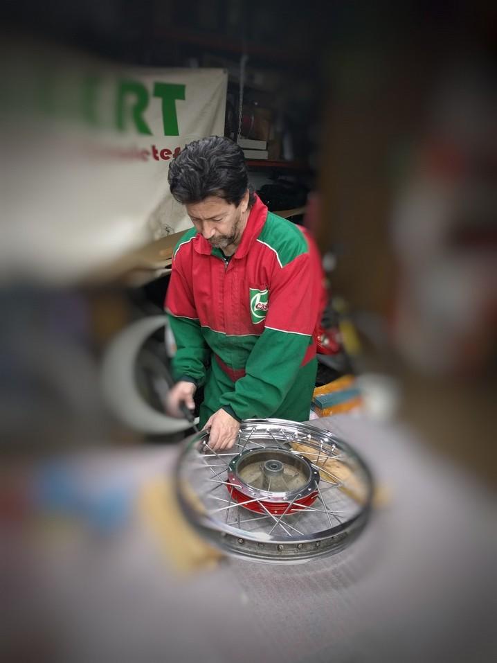 Especialistas en Enradiado ruedas