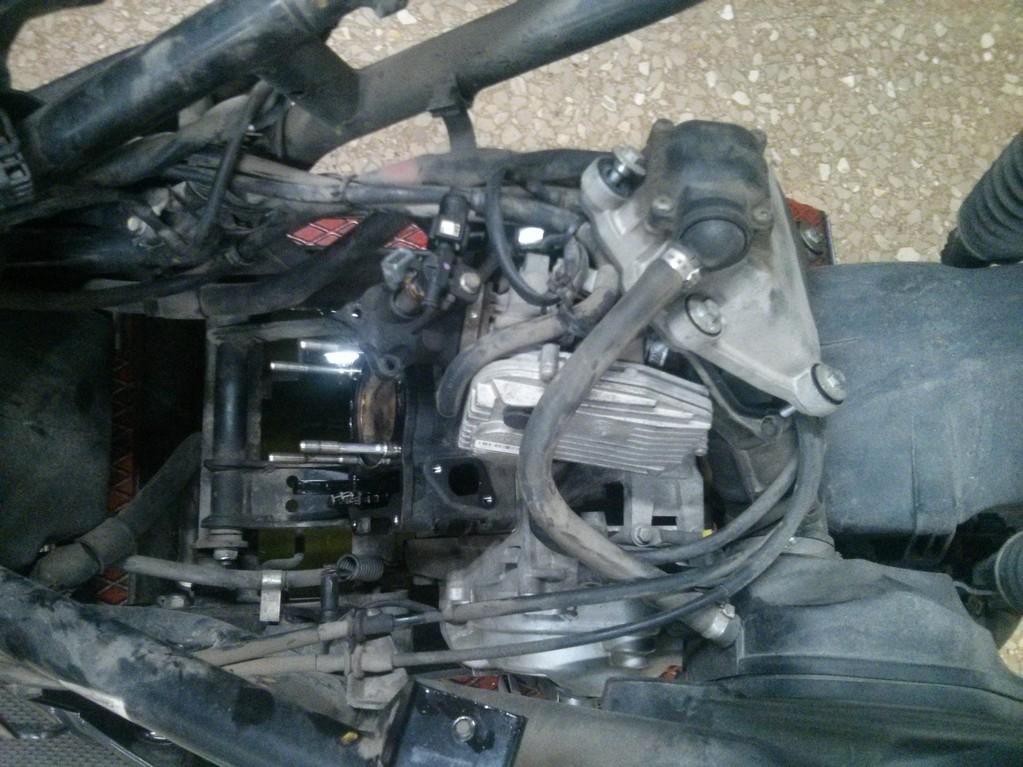 Reparación motor moto