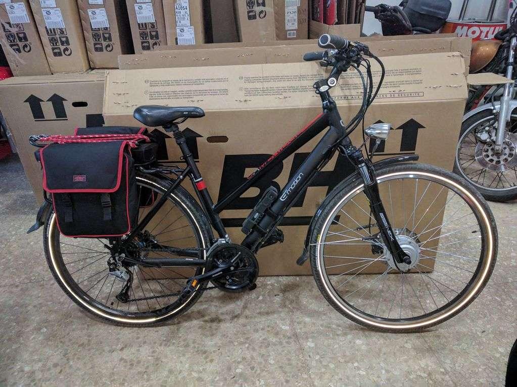Bicicleta Cambrighe de BH transformada en bicicleta eléctrica