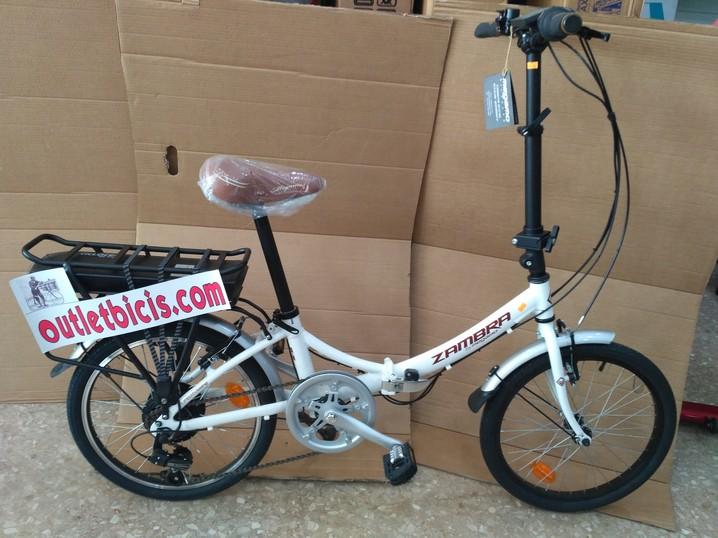 Bicicleta plegable electrica en Outlet
