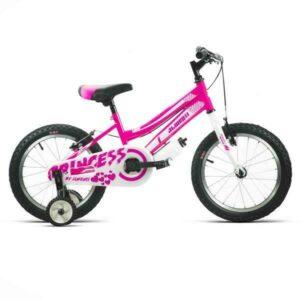 bicicleta infantil 16 rosa